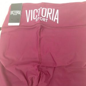 NWT Victoria Secret biker shorts Burgundy Small